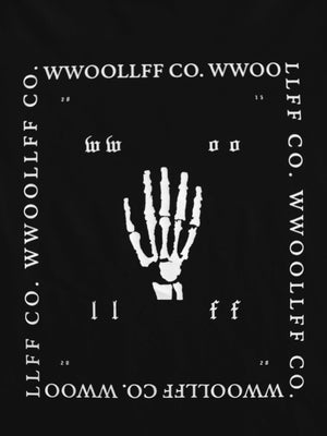 WWOOLLFF Hand | Black Long Sleeve
