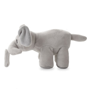 Ali+Oli Soft Plush Soothie Holder Elephant (pacifier NOT included)