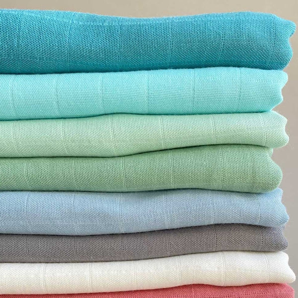 Ali+Oli Muslin Swaddle Blanket (Mint)