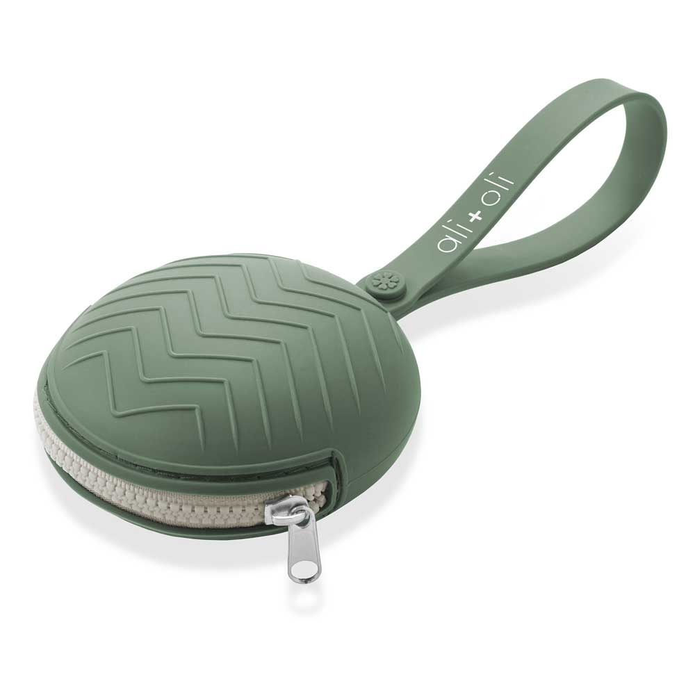 Ali+Oli Pacifier Case (Army Green)