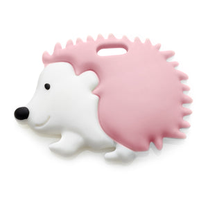 Hedgehog Teether (Soft Pink)