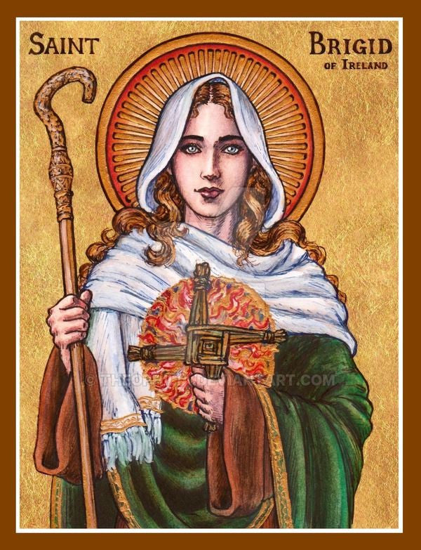 Saint Brigid's Day & The Festival of Imbolc