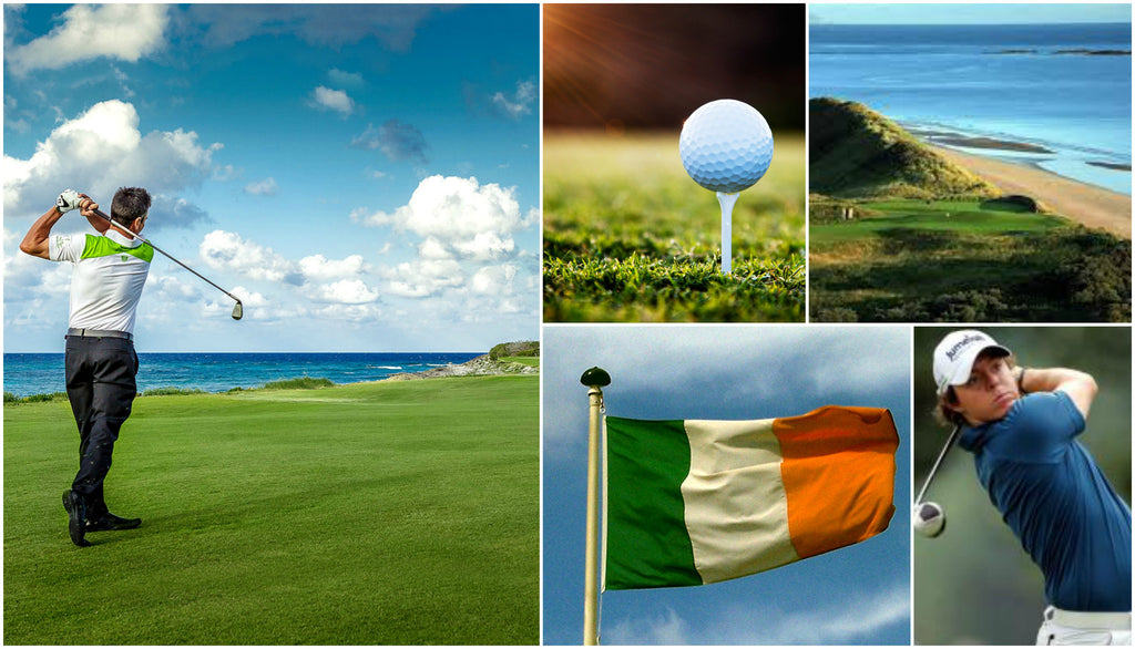 A Hole in One! Golfing on the Greens of Ireland