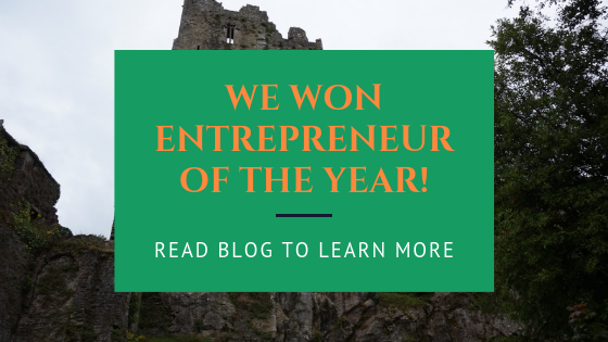 """Sharing the Joy"" - Biddy Murphy wins Entrepreneur of the Year Award"