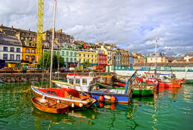Touring Ireland - Kinsale Co Cork