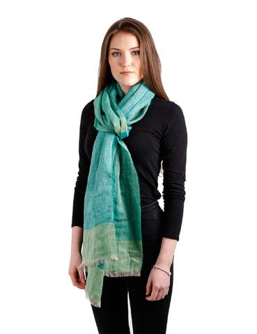 Pure Linen Irish Made Scarf $74.95