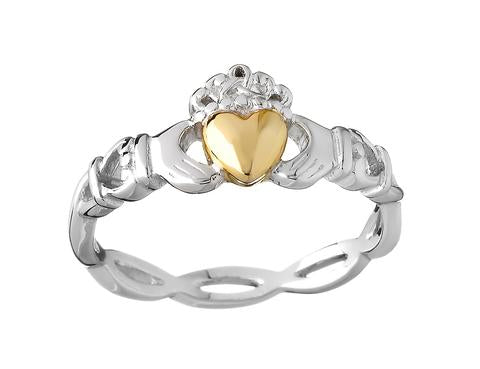 53dff4f479c565 Galway is home to the Claddagh Museum, which tells the legend of the Claddagh  ring. The Claddagh symbol represents love, loyalty, and friendship and was  ...