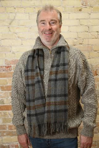100% Lambswool Irish Scarf - Was $39.95   NOW $24.95