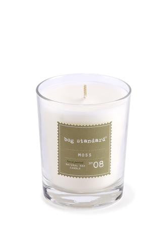 Large Moss Candle by Bog Standard