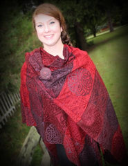 What S The Difference Ruanas Shawls Sarapes And More Biddy