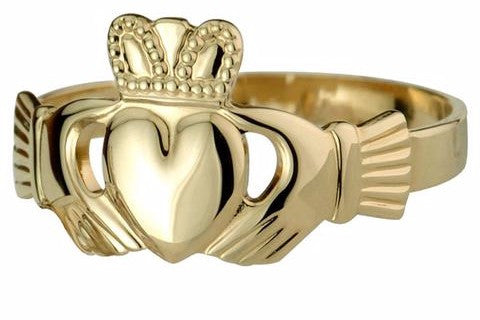 Claddagh Wedding Band 31 Perfect Ideal for wearing all