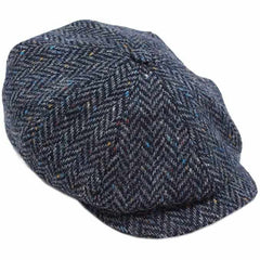 Irish Hats for Men or Women Made in Ireland Tweed Cap 8-Piece Newsboy Made in Co Tipperary