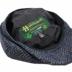 Peaky Blinders Hat Newsboy Style Cap Fuller Fit Wool Tweed Made in Co. Tipperary Ireland by John Hanly & Co.