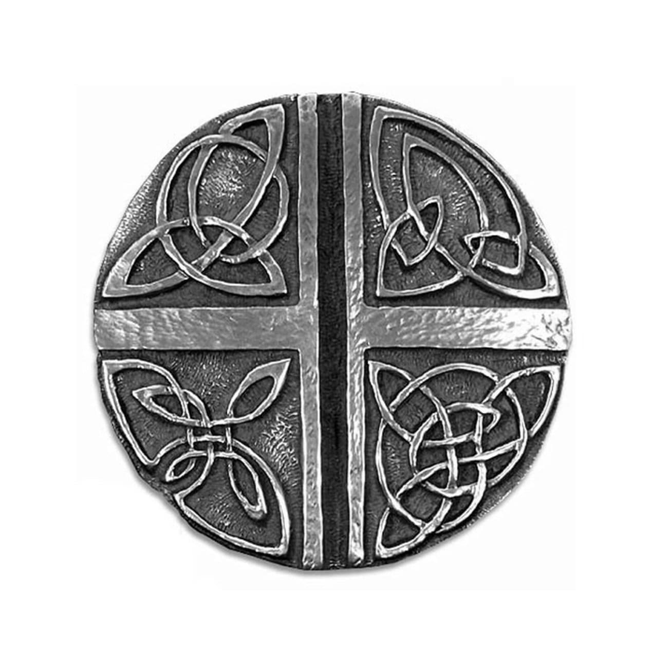 Wall Cross Celtic Knot Design Irish Love Cross Symbol by Wild Goose Studios Made in Kinsale Co. Cork, Ireland