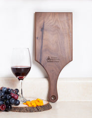 "Kitchen Cutting Board Hanging Wood Cutting Board Large 15"" x 6.5"" Charcuterie Board with Handle Made in Co. Meath Ireland"