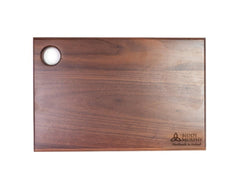 "Medium Wood Cutting Board 12"" x 8"" Hardwood Reversible & Lifetime Quality Made in Ireland"