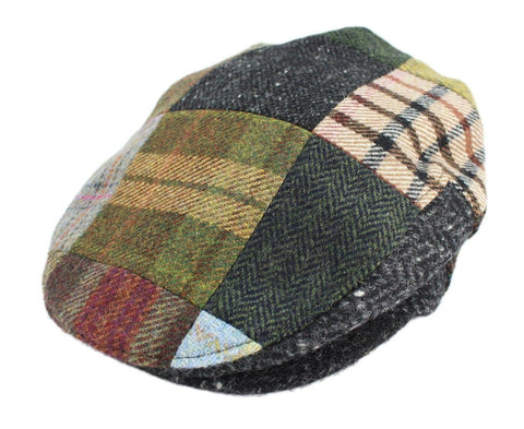 c26adbeb John Hanly Mens Irish Flat Cap Patchwork Tweed. 23. Blue. $ 69.95. John  Hanly Blinder Hat Wool Navy Herringbone 8 Piece Made in Ireland. 13. Brown