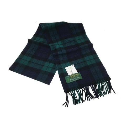 Long Irish Scarf Woven with 100% New Lambswool, Crafted by our Maker-Partners at John Hanly & Company in Co. Tipperary, Ireland
