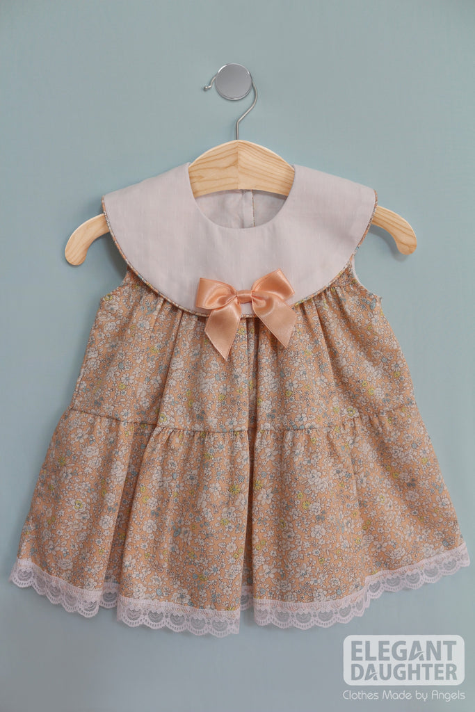 Peach Bow Dress