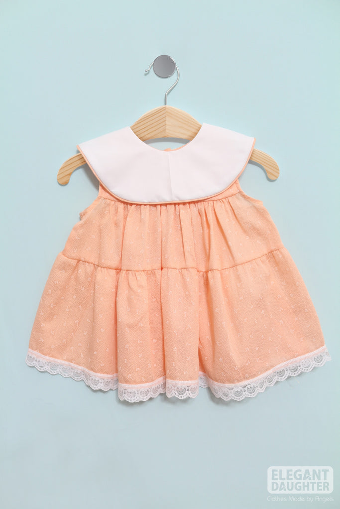 Light Peach Dress- Baby Dress