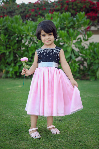 Pink & Black  Princes Girl Dress.