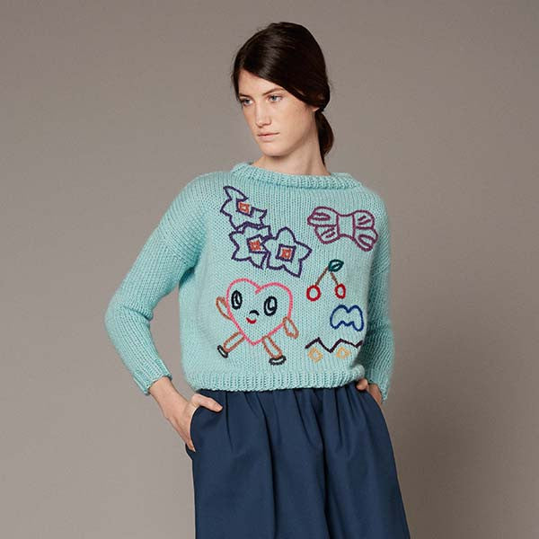 Turquoise Ella jumper - Limited Edition