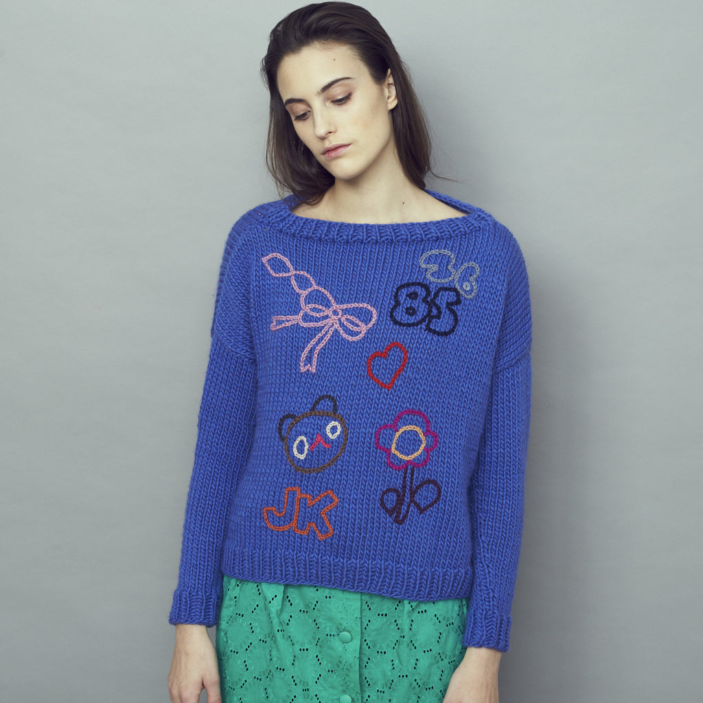 Ella Jumper Blue