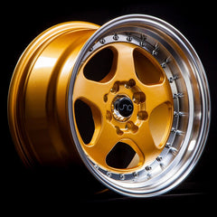 JNC010 Gold Machined Lip