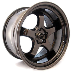 JNC017 Full Black Chrome