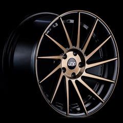 JNC051 Matte Black Machined Bronze Face