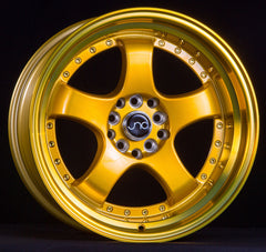 JNC017 Transparent Gold Machined Lip