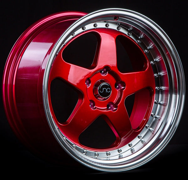 JNC010 Candy Red Machined Lip