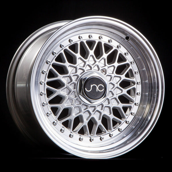 JNC004 Silver Machined Lip