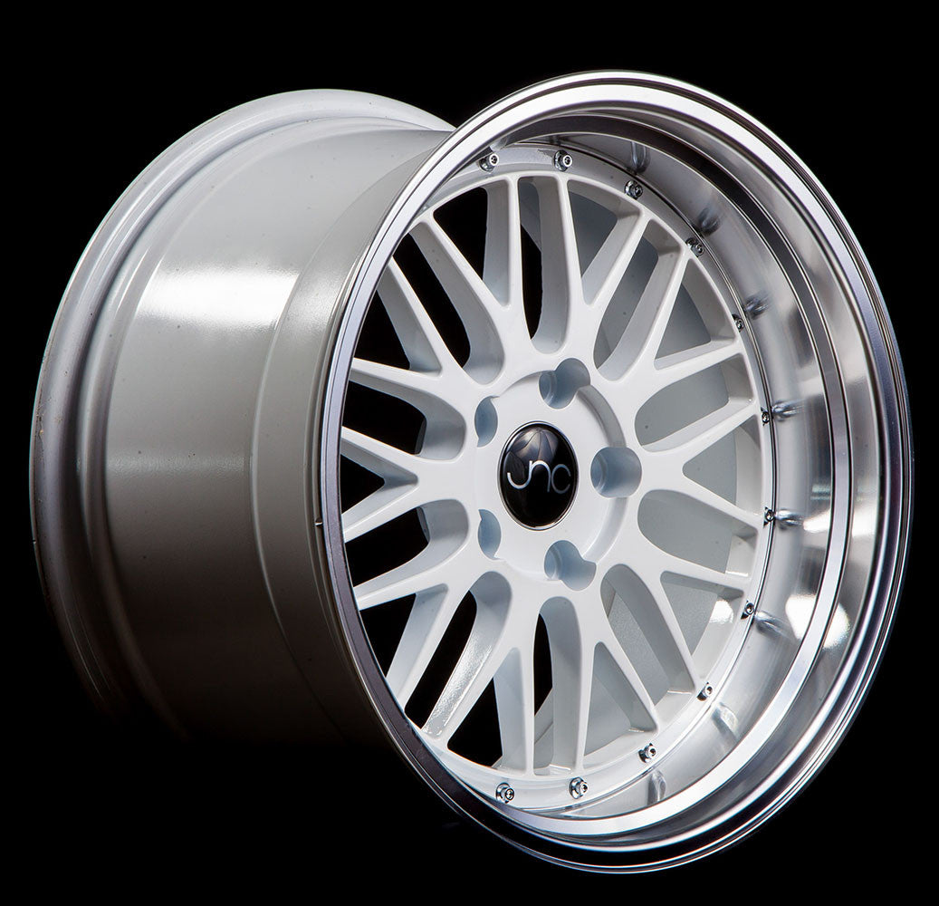 5x114.3-18x9 inch JNC Wheels 18 JNC005 Gold Machined Lip Rim