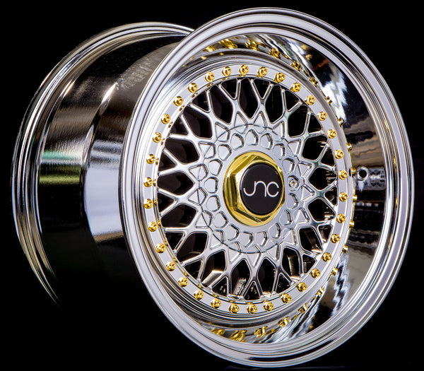 JNC004S Platinum Gold Rivets
