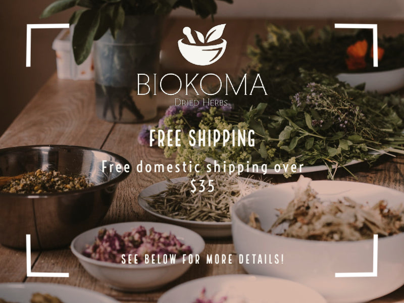 Free Domestic Shipping over $35