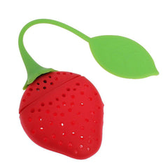 Silicone Strawberry Tea Herb Infuser Strainer | Biokoma.com
