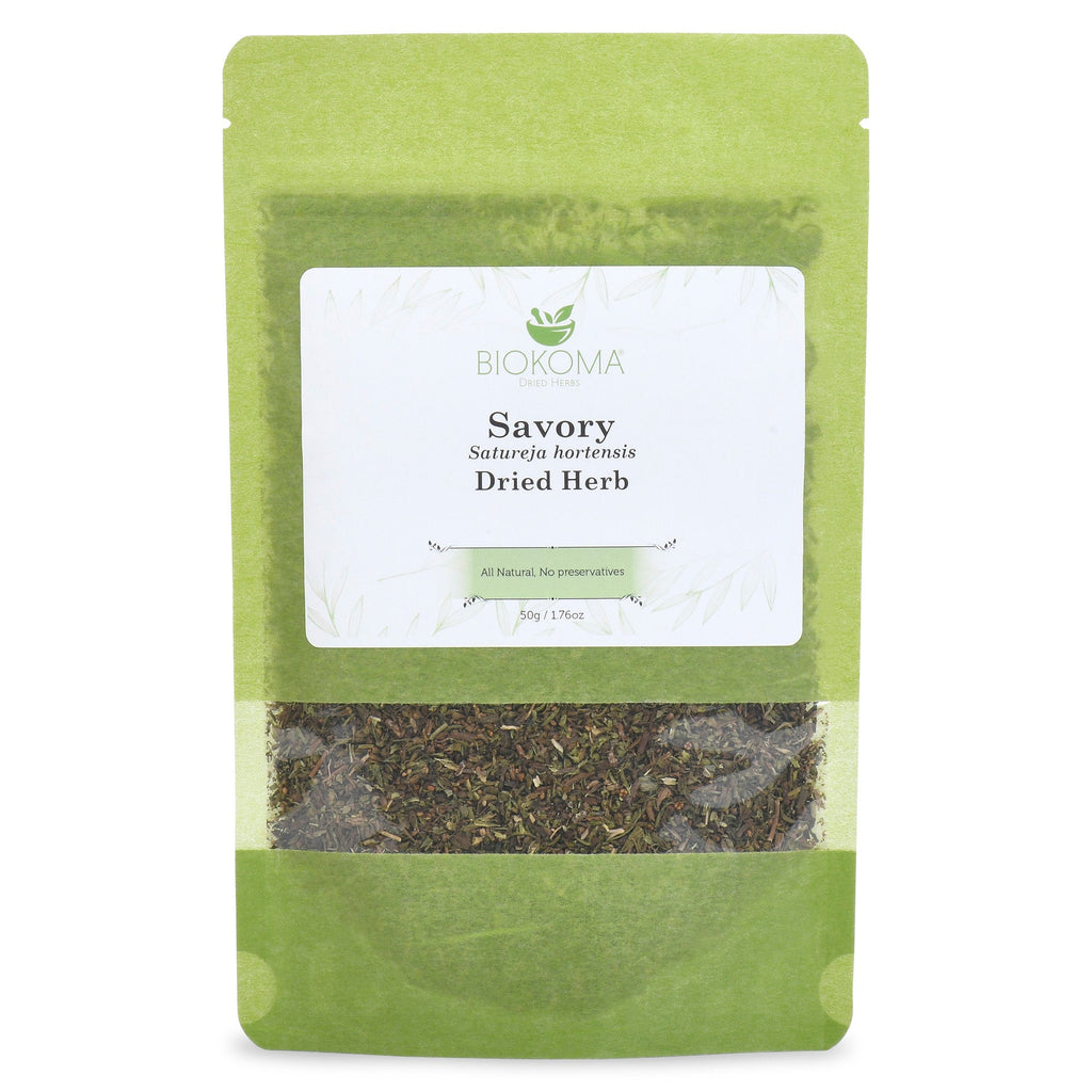 Herb - Savory (Satureja Hortensis) Dried Herb 50g 1.76oz