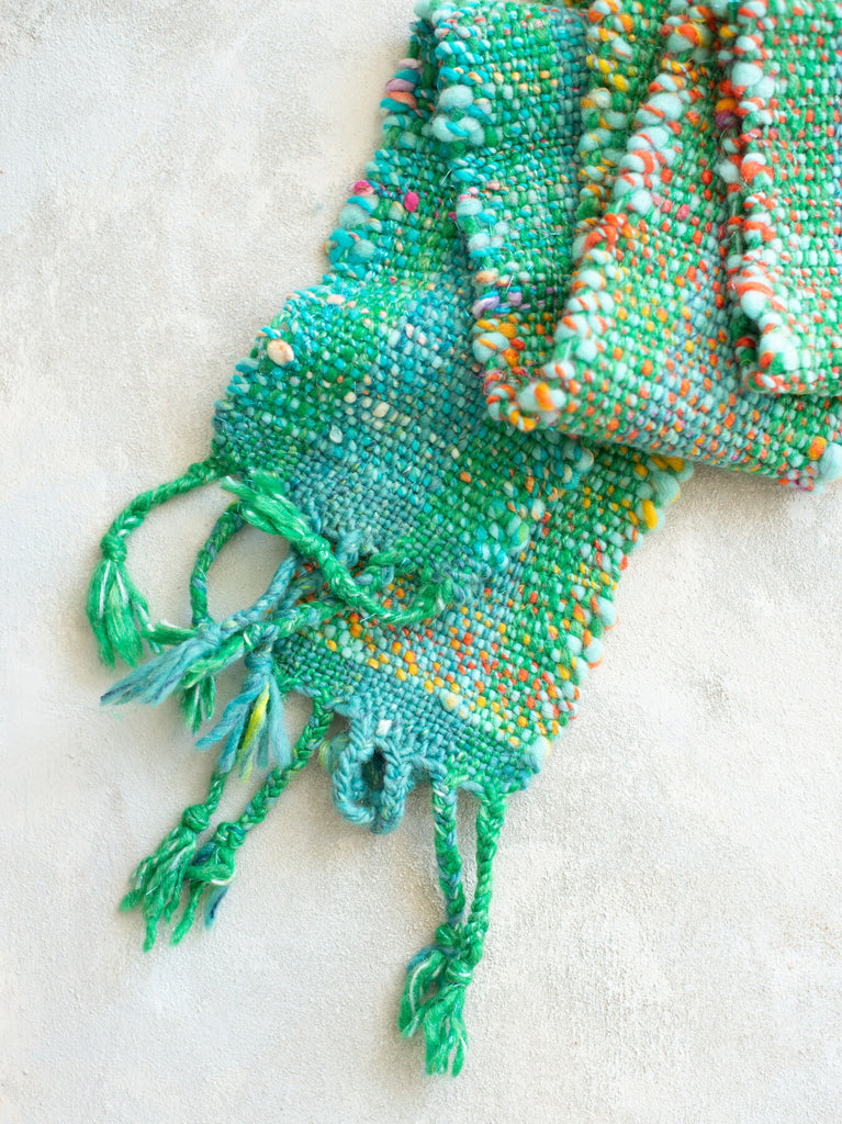 'Tulip Fields' Handwoven Scarf