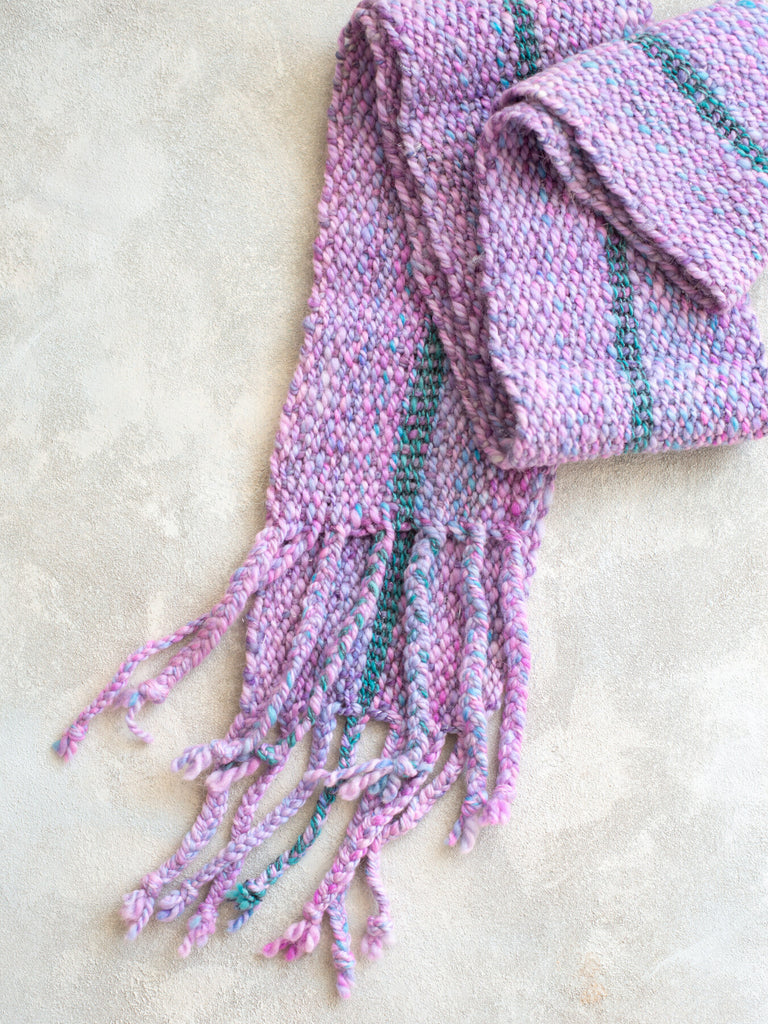 'Pocket of Posies' Handwoven Scarf