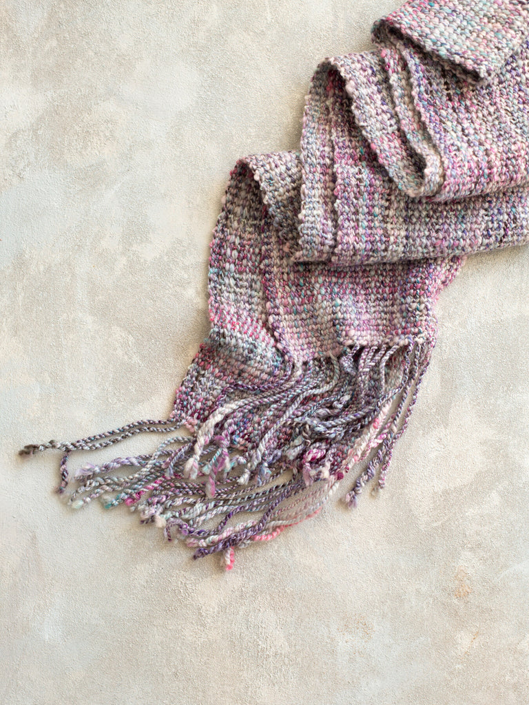 'Through the Looking Glass' Handwoven Scarf