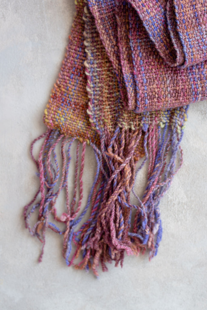 'Serendipity' Handwoven Scarf