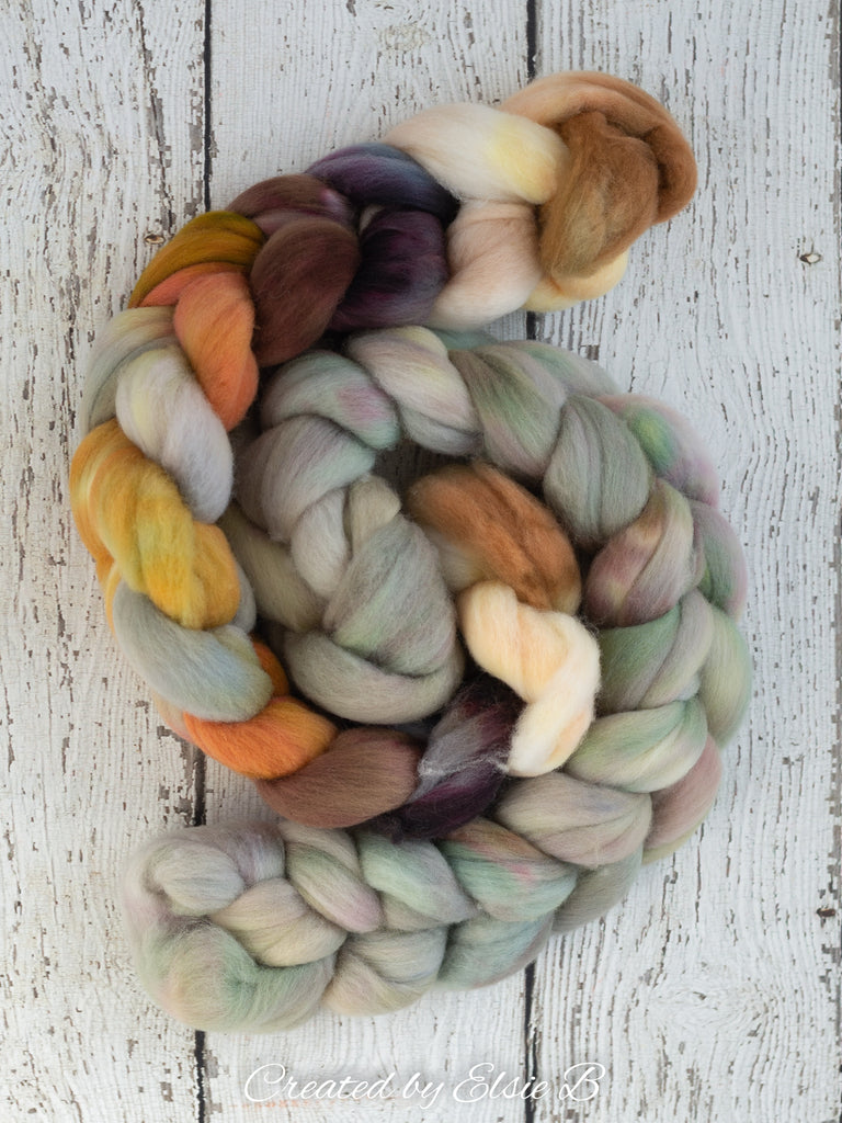 Organic Merino 'Dusty Olive' 4 oz