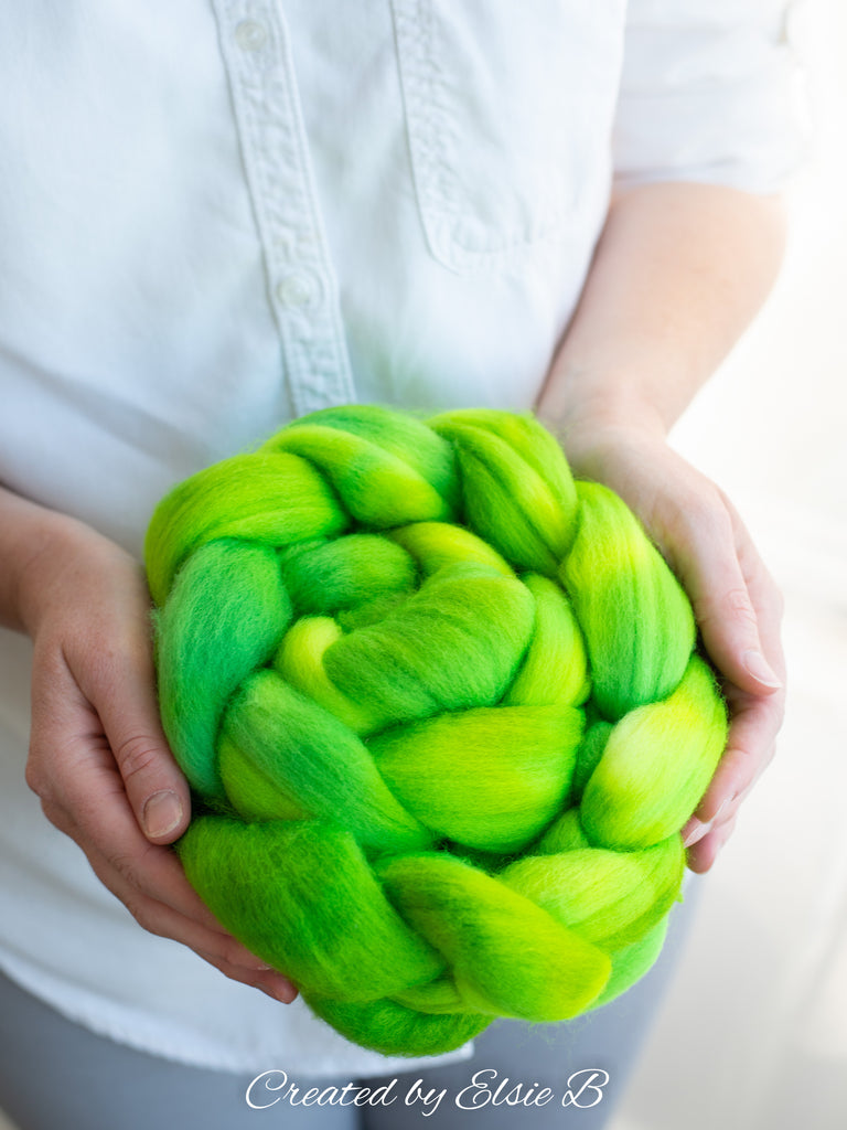 October's Semi-Solid: Polwarth 'Flubber' 4 oz - EXPECTED TO SHIP 11/4