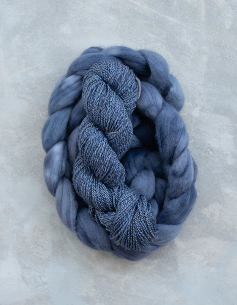 Organic Merino 'Moonlit Waves' 4 oz
