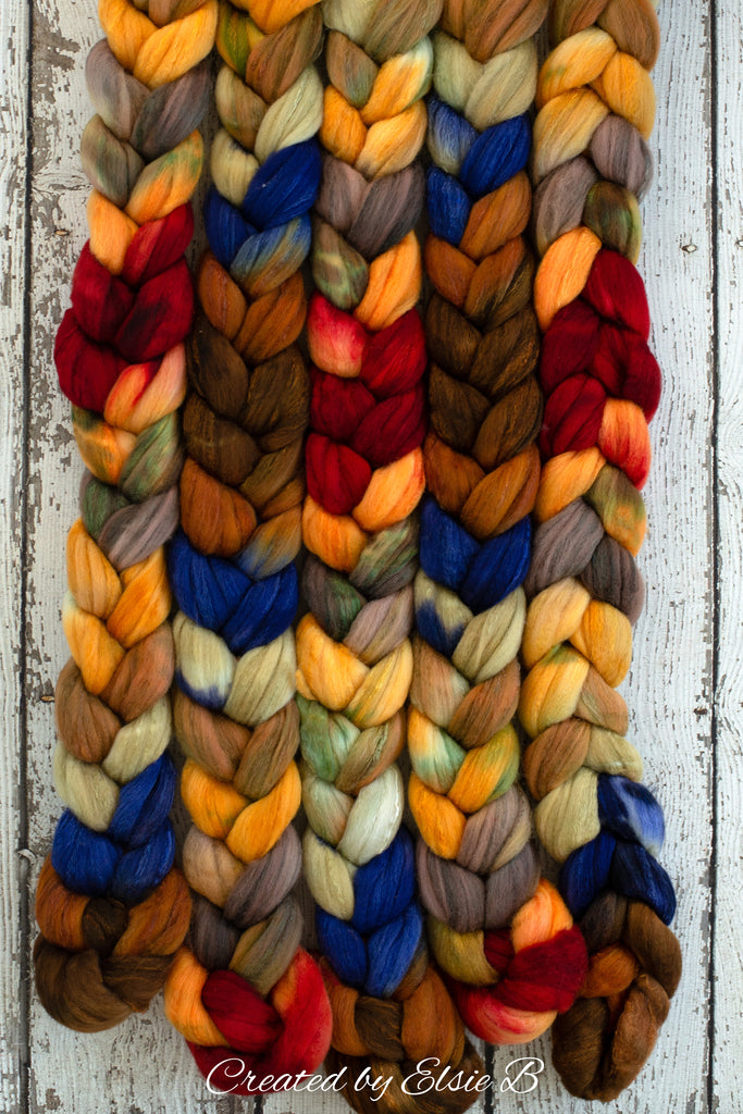 Organic Polwarth/ Silk 'Sweater Weather' 4 oz - EXPECTED TO SHIP BY 10/16