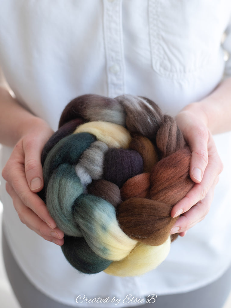 Organic Merino 'Wood Duck' 4 oz