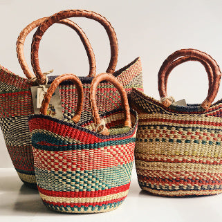 Handcrafted Natural Baskets