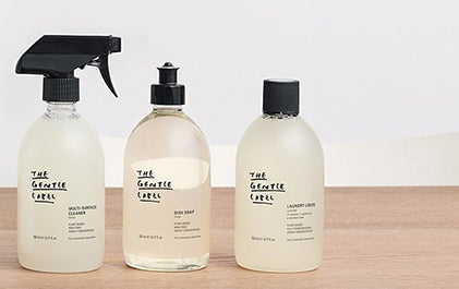 The gentle Label Organic Non Toxic cleaning
