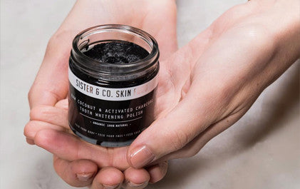 Sister and Co. Activated Charcoal Tooth Polish